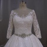 Appliqued A - linha preço razoável do vestido nupcial