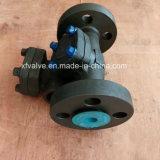 Válvula de verificación de acero forjada de alta presión del extremo de la conexión del borde API602