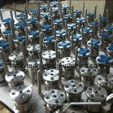 API6d 600lb ha forgiato la valvola a sfera dell'estremità della flangia del acciaio al carbonio A105