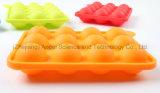 Прессформы миниая DIY конфеты шипучки Lolly силикона полостей стандарта 12 УПРАВЛЕНИЕ ПО САНИТАРНОМУ НАДЗОРУ ЗА КАЧЕСТВОМ ПИЩЕВЫХ ПРОДУКТОВ И МЕДИКАМЕНТОВ LFGB прессформа Sc11 торта силикона круглой