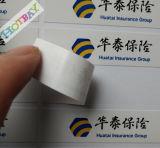 Etiquetas de empaquetado del papel de la impresión de la insignia