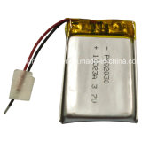 Wearableのための3.7V Rechargeable Polymer Lithium Battery