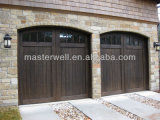 Different Design/Woodgrain Garage Door를 가진 Singel Garage Door