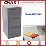 3 cassetto Filing Cabinet con Strong Structure per School, Office, Hospital