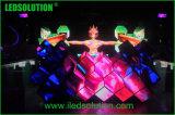 Schermo di visualizzazione dell'interno creativo della cabina di colore completo LED DJ