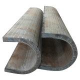 Двойных швов стены LSAW труба супер толщиных стальная