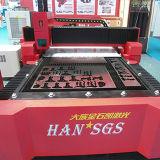 машина CNC вырезывания лазера волокна 500W для рекламировать