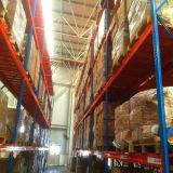 Cremalheiras de aço personalizadas da pálete do armazenamento do armazém