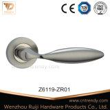 침실 (AL034)를 위한 장식적인 알루미늄 로즈 장붓 구멍 레버 손잡이