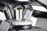 FM-412 микроскоп освещения низкой стоимости СИД портативный перевернутый биологический