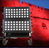 luz principal doble de la arandela de la pared del suelo LED de 72PCS 10W