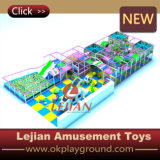 Apparatuur van de Speelplaats van de Kinderen van Ce de Plastic Zachte Binnen (t1506-10)