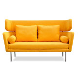 Modernes Design Classical Style Wohnzimmer Soft Fabric Sofa mit Metal Leg