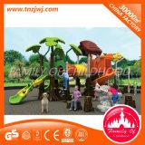 遊園地のための子供の運動場のスライドの屋外装置