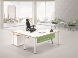 حديثة خشبيّة [إإكسكتيف وفّيس كمبوتر] طاولة أثاث لازم تصميم ([سز-ودب347])