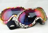 PC Izh021 Revo-Beschichtung Anti-Fog Form Sports Ski-Gläser/Schutzbrillen