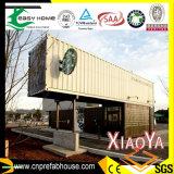 Самомоднейший украшенный дом контейнера Prebuilt стальной