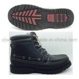 人の方法PUの労働者の靴