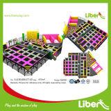 Крытый парк Trampoline с блоками пены