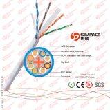 El Ce, RoHS certificó el alambre del LAN de LSZH CAT6