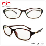 Signore Plastic Reading Glasses con Metal Decoration (WRP507276)