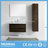 LEDの接触スイッチ新しい現代光沢度の高いペンキの浴室のキャビネットの単位デザイン新式の浴室の家具(BF182M)