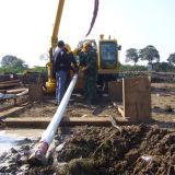 Installation hydraulique de forage dirigé, foreuse de Trenchless