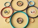 Anel-O da alta qualidade NBR com cores e tipos diferentes