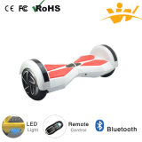 Scooter électrique de mobilité d'individu de scooter intelligent d'équilibre