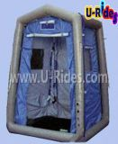 屋外のための膨脹可能なシャワーのテント