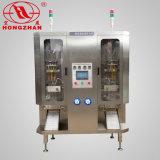 Machine à emballer liquide automatique à deux lignes de Hongzhan HP2-1000
