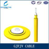 Câble recto d'intérieur de fibre de GJFJV pour le tresse de cordon de connexion