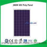 Comitato solare policristallino di Js-260W con il certificato di TUV&Ce