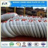 ステンレス鋼AISI 304の皿に盛られた管および管付属品