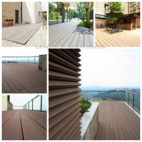 Decking composé de 71*11mm WPC/Decking en stratifié de Flooring/WPC