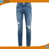 Baumwolljeans-Hose der Dame-Fashion Stretch Denim Straight