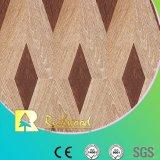 Étage résistant V-Grooved de Laminbated de l'eau de texture de fibre de bois de ménage