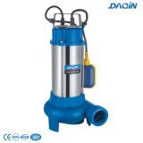 Stainless de aço Sewage Submersible Pumps com Float Switch