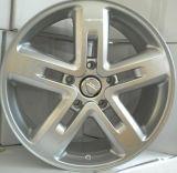 Roda popular da liga do carro da prata do estilo F15189