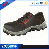 Работая кожаный ботинки безопасности Ufa005