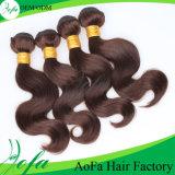 O cabelo do Virgin de Remy, afrouxa a extensão do cabelo humano da onda nenhum distribuidor