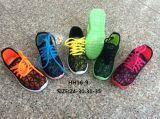 Schoenen van de Sport van de Manier van de Schoenen van de Injectie van pvc van kinderen de Toevallige (hh16-9)