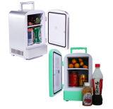 Mini réfrigérateur portatif 4liter DC12V, AC100-240V pour se refroidir et chauffage