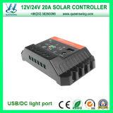 Auto12/24V Solar Regulator 20A Charge Controller (QWP-SC2024U)