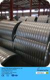 電流を通された炭素鋼の管