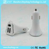 5V 1A/2.1Aは出力した3 USBポート車の充電器(ZYF9110)を