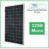 ホームパワー系統のための熱い販売のモノラル太陽電池パネル320W