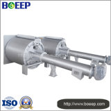 Pantalla del tambor rotatorio ampliamente utilizada en proyectos urbanos del tratamiento de aguas residuales
