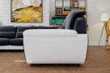 1+2+3 modernos novos com o sofá Lz1688 ajustado do couro da mesa de centro
