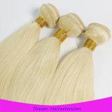 Trama loura européia do cabelo da cor 613# da cutícula cheia